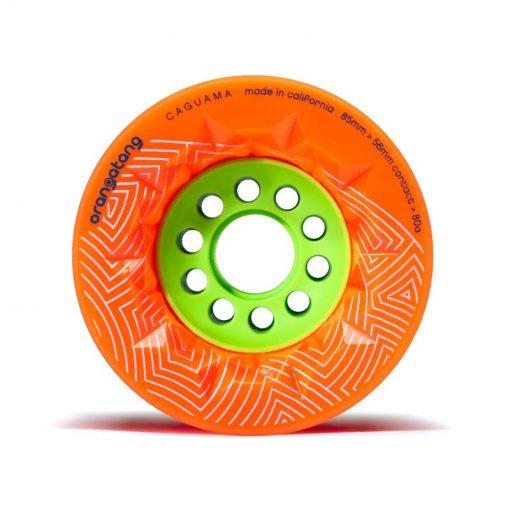 Oranje Orangatang Caguama 85mm wielen