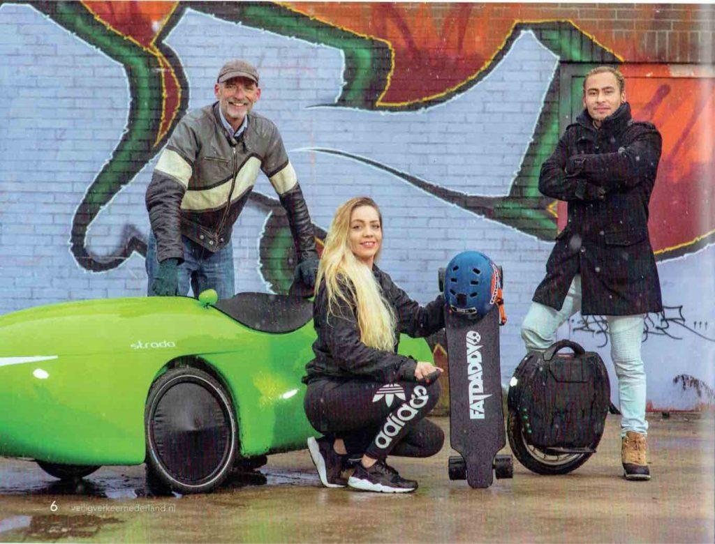 Veilig Verkeer Nederland over elektrische vervoersmiddelen