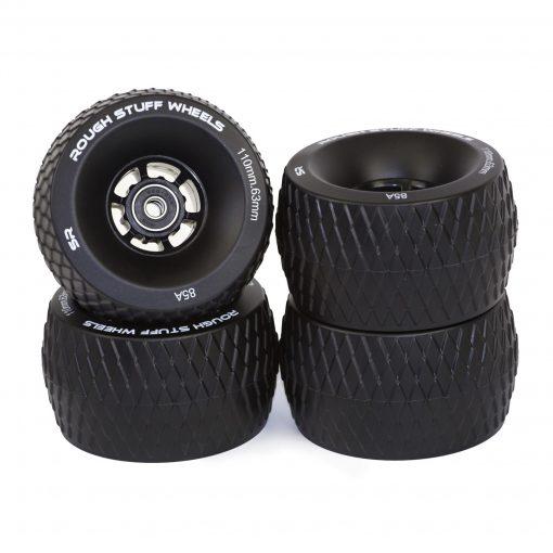 Black Rough Stuff Wheels (Set of 4)
