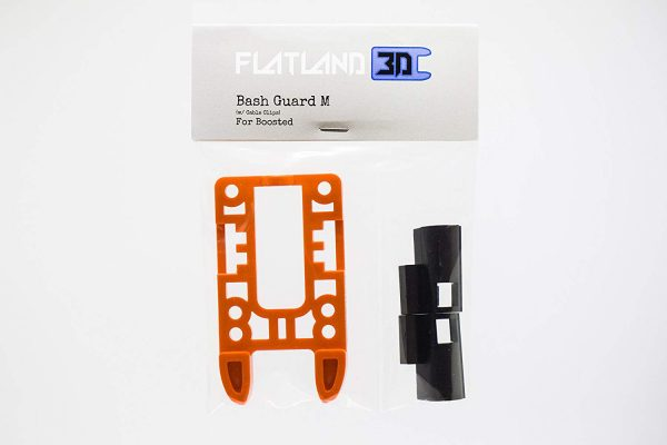 Bash Guard M for Boosted Boards Orange (open)