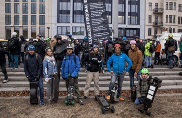 <pre>Duitsland stemt 'ja' tegen het legaliseren van e-scooters tot 20 km