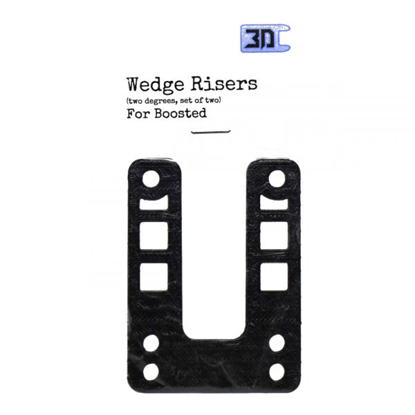 Wedge Riser (set van 2) voor Boosted Boards