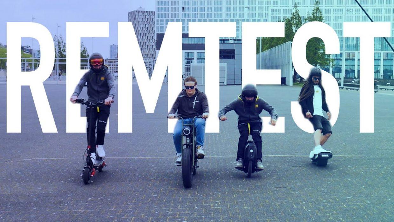 remtest nederland emobiliteit elektrische step