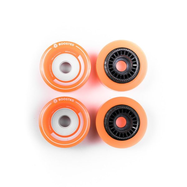 Boosted Stratus full set of 4 wheels 85mm - Orange