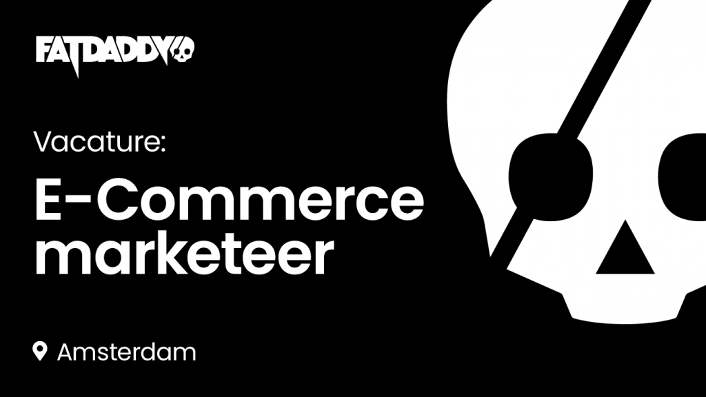 Vacature: E-Commerce marketeer