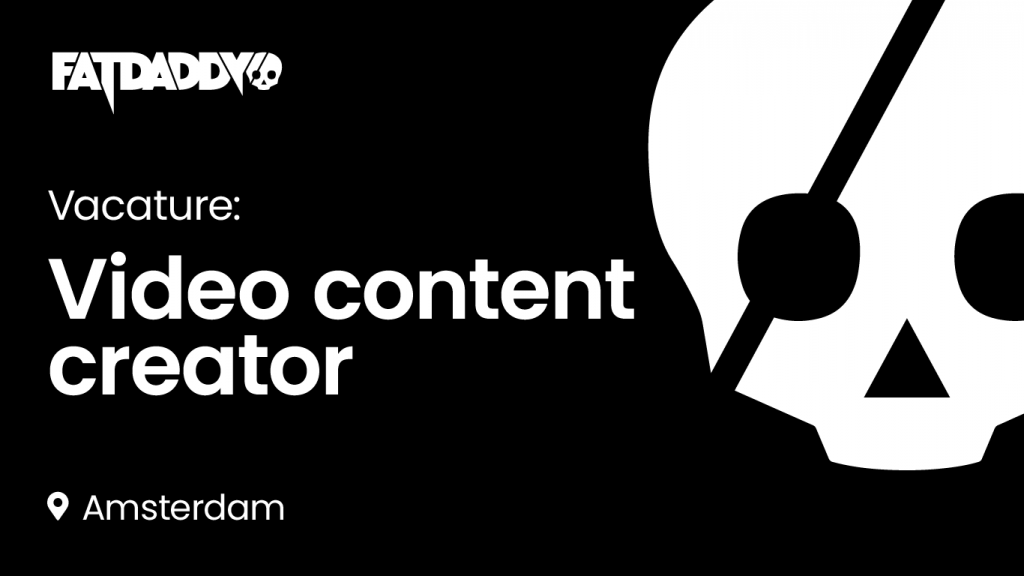 Vacature: Video content creator